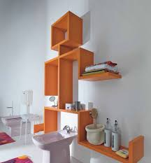 wall shelves toilet