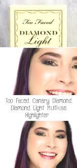 <b>Too Faced Canary</b> Diamond Diamond Light Multi-use Highlighter ...