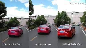 YI 4K+ VS /Mijia 4K VS /<b>YI 4K</b> - Action Camera Сompare - YouTube