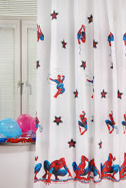 <b>Портьера</b> в детскую комнату <b>TAC SPIDER-MAN</b>, белый | Royal ...