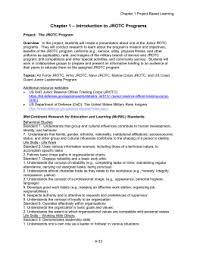 army jrotc leadership education training   jrotc i  syllabusintroduction to jrotc programs chapter