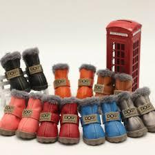 <b>4PCS</b>/<b>Set Pet</b> Shoes Snow Boots Winter Dog <b>Cat</b> Puppy Warm Anti ...