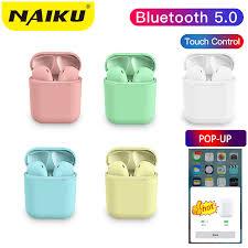 Pop up <b>S12 tws Bluetooth</b> Earphone 5.0 <b>Wireless</b> Headphones ...