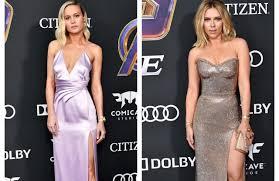 Brie Larson, Scarlett Johansson <b>Wear Avengers</b> Rings at L.A. ...
