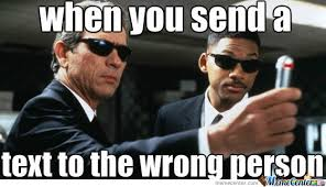 Texting The Wrong Person by killerk713 - Meme Center via Relatably.com