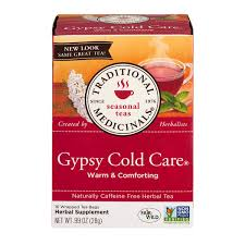 Save on Traditional Medicinals <b>Gypsy Cold</b> Care Herbal <b>Tea</b> Bags ...