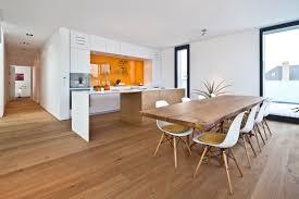 amazing white wood furniture sets modern design:  amazing small wooden home interior design interior terrific apartment interior design with parquet wooden floor and open kitchen concept