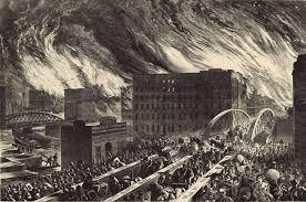 <b>Великий чикагский</b> пожар — Википедия