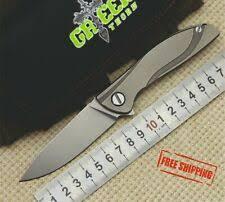 Титановая ручка серые коллекционные <b>складные ножи</b> | eBay