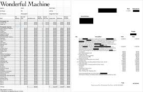 the official newsletter for wonderful machine photographers wm r sample invoice