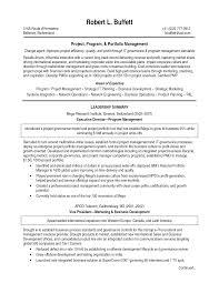 program manager resume sample getessay biz executive resume program management pdf throughout program manager resume