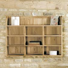 buy baumhaus mobel oak reversible wall rack online cfs uk choicefurnituresuperstore baumhaus mobel solid oak wine rack lamp