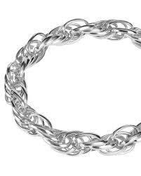 Ожерелье из крупных звеньев