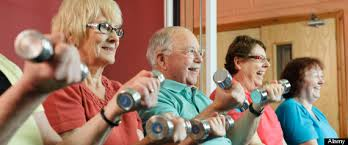 Image result for old people at the gym