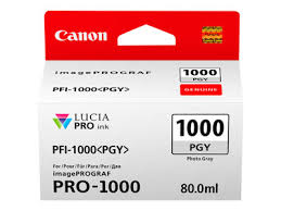 Product | <b>Canon PFI-1000 PGY</b> - <b>photo</b> gray - original - ink tank