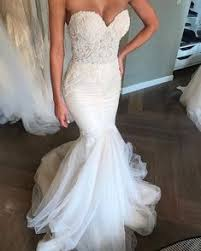 <b>Hot Sale</b> Lace Mermaid Sweetheart Croset <b>Sexy</b> Bridal Dress in ...