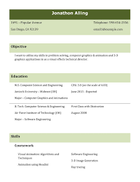 9 best different types of resumes formats sample best combined resume template