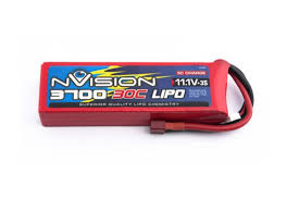 <b>Аккумулятор nVision LiPo 11.1</b>V 3S 30C 3700 mAh - NVO1813 ...