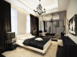 black and white bedroom deluxe interior design modern with chandelier and awesome furniture awesome design black bedroom ideas decoration