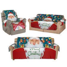 Christmas 3D <b>Digital Printed</b> Sofa Cover Dustproof Cover Sofa ...
