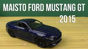Распаковка <b>Maisto</b> (<b>1:24</b>) <b>2015 Ford</b> Mustang GT (31508) - YouTube