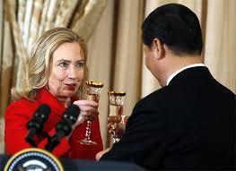 「hillary clinton Xi」的圖片搜尋結果