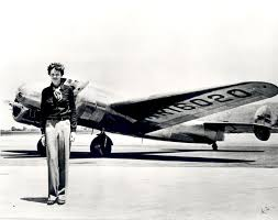 new book claims amelia earhart was a spy captured by amelia earhart standing in front of the lockheed electra credit sspl getty