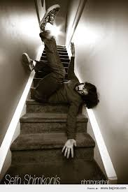 Funny Fail: People Falling Down Stairs (12 Images) | Bajiroo.com via Relatably.com