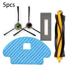 5 Piece <b>Set For</b> ECOVACS DG3G-KTA DEEBOT OZMO930 ...