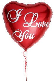 Image result for valentine helium balloon