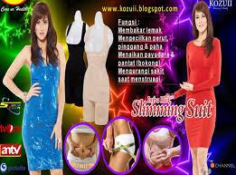 Produk Asli Jaco - Kozuii Slimming Suit adalah Korset Pelangsing yang dapat memancarkan gelombang sinar infra merah