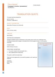 how to write compelling translation quotes translation quote template 1