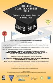 conference on jan college goal tennessee pef college going saturday 2014 flyer