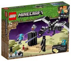 Купить <b>Конструктор LEGO Minecraft</b> 21151 <b>Последняя</b> битва по ...