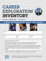 career exploration inventory e jist career solutions click on image to zoom