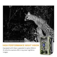 hunting trail camera 16mp and 1080p fhd video wildlife scouting