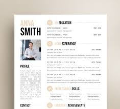 elegant resume resume template no 3 cover letter reference page business cards instant creative elegant mini stic