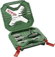 <b>Набор сверл и</b> бит Bosch X-Line Classic 54. 2607010610 ...