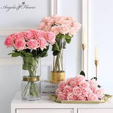 <b>Artificial flower</b> feel <b>moisturizing rose</b> DIY bridal bouquet photo prop ...