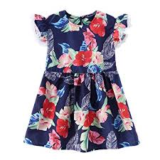 Buy Voberry <b>2019 Toddler</b> Baby Kids <b>Girls</b> Lace Floral Print <b>Dress</b> ...