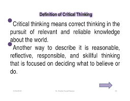 Foundation for critical thinking powerpoint slides     Brand Championship