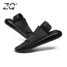 ZOQI <b>New</b> Fashion <b>Summer</b> Beach Breathable <b>Men Sandals</b> ...