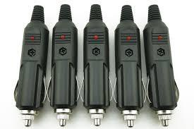 <b>2 PCS</b>/<b>Lot</b> Free shipping 12V Male <b>Car</b> Cigarette Lighter Socket ...