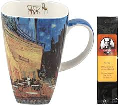 Van Gogh Cafe Terrace At Night Grande Coffee Mug ... - Amazon.com