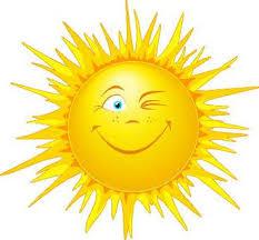 Billedresultat for solen skinner