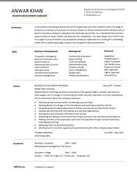 business development manager cv template  managers resume    business development manager cv template