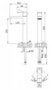 Купить <b>смеситель для раковины Cezares</b> Porta PORTA-LC-01-W0 ...