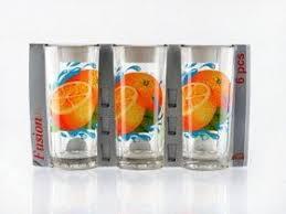 Купить <b>Стакан</b> ОСЗ 1256У 6шт <b>Ода</b> 230 мл.Апельсин в Крыму ...