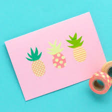 Combine your love for <b>washi tape</b> with your (new?) favourite fruit ...