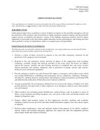 firefighter job description for resume resume examples  tags firefighter emt job description for resume firefighter job description for resume firefighter paramedic job description for resume volunteer